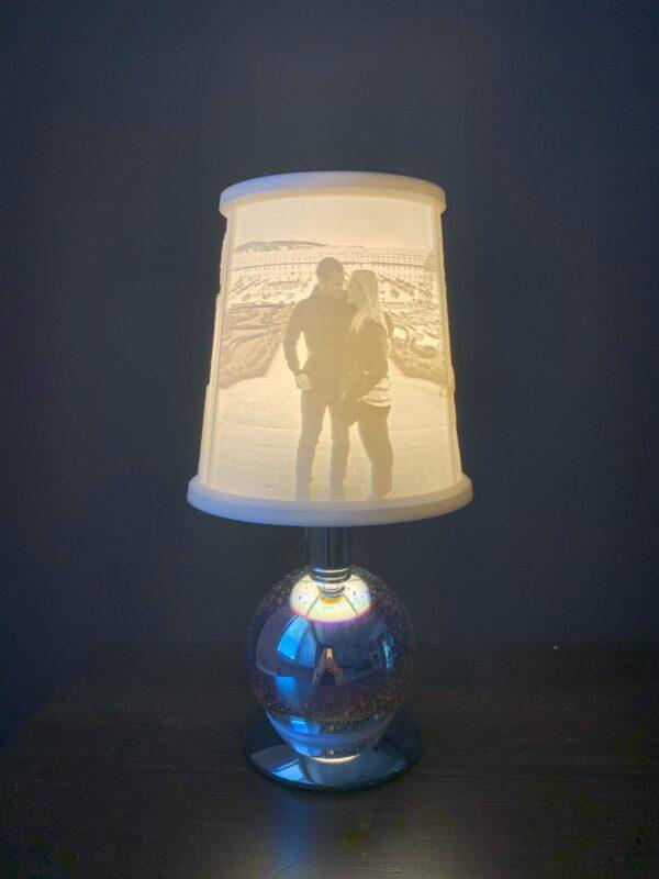 3D foto - stolní lampa